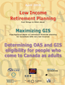 Retiring on a low income cover
