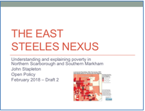 The East Steeles Nexus of Poverty