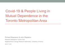 Covid-19 & Living in Mutual Dependence